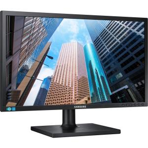 "Samsung S24E650BW 24"" LED LCD Monitor - 16:10 - 4 ms - Adjustable Display Angle - 1920 x 1200 - 16.7 Million Colors - 250 Nit - 1,000:1 - WUXGA - DVI - VGA - USB - 25 W - Black - ENERGY STAR,"