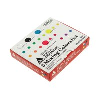 Holbein Acryla Gouache 5-Color Mixing Color Set, 20ml, Primary Designer Colors