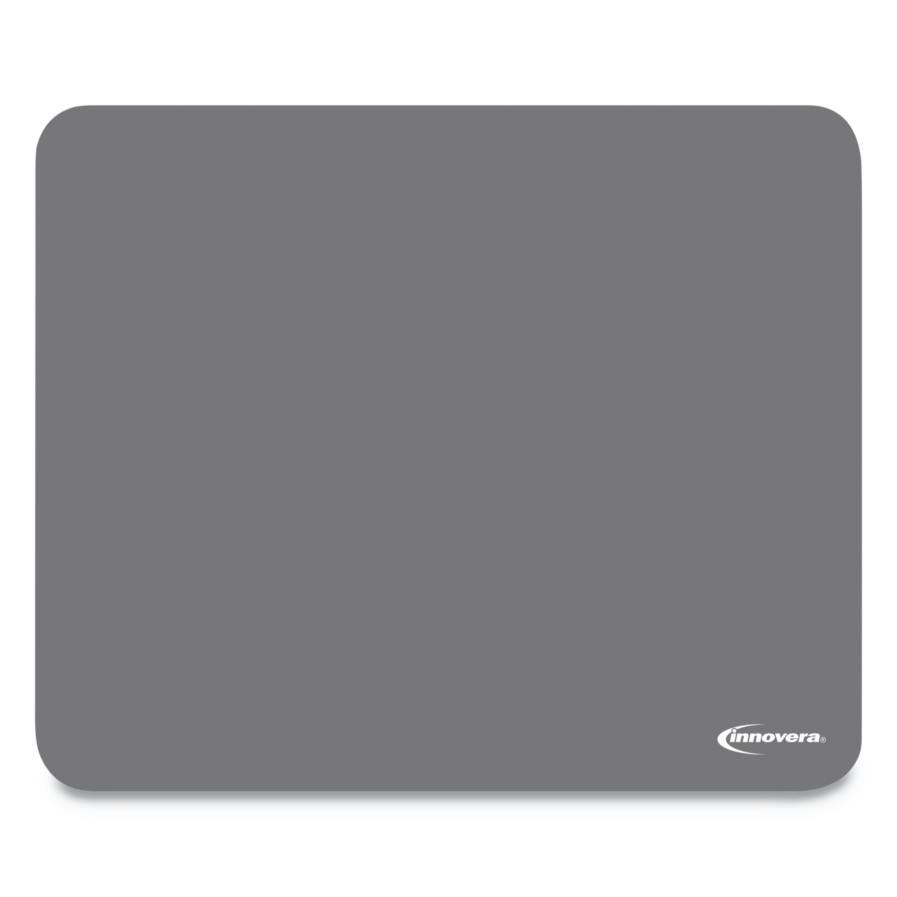 Innovera Latex-Free Synthetic Rubber Mouse Pad, Gray -IVR52449