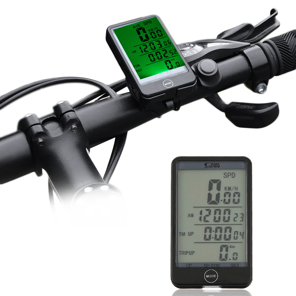 Bicycle Driving Computer 29 Functions Wireless Cycling Bike Computer Speedometer Odometer Stopwatch
