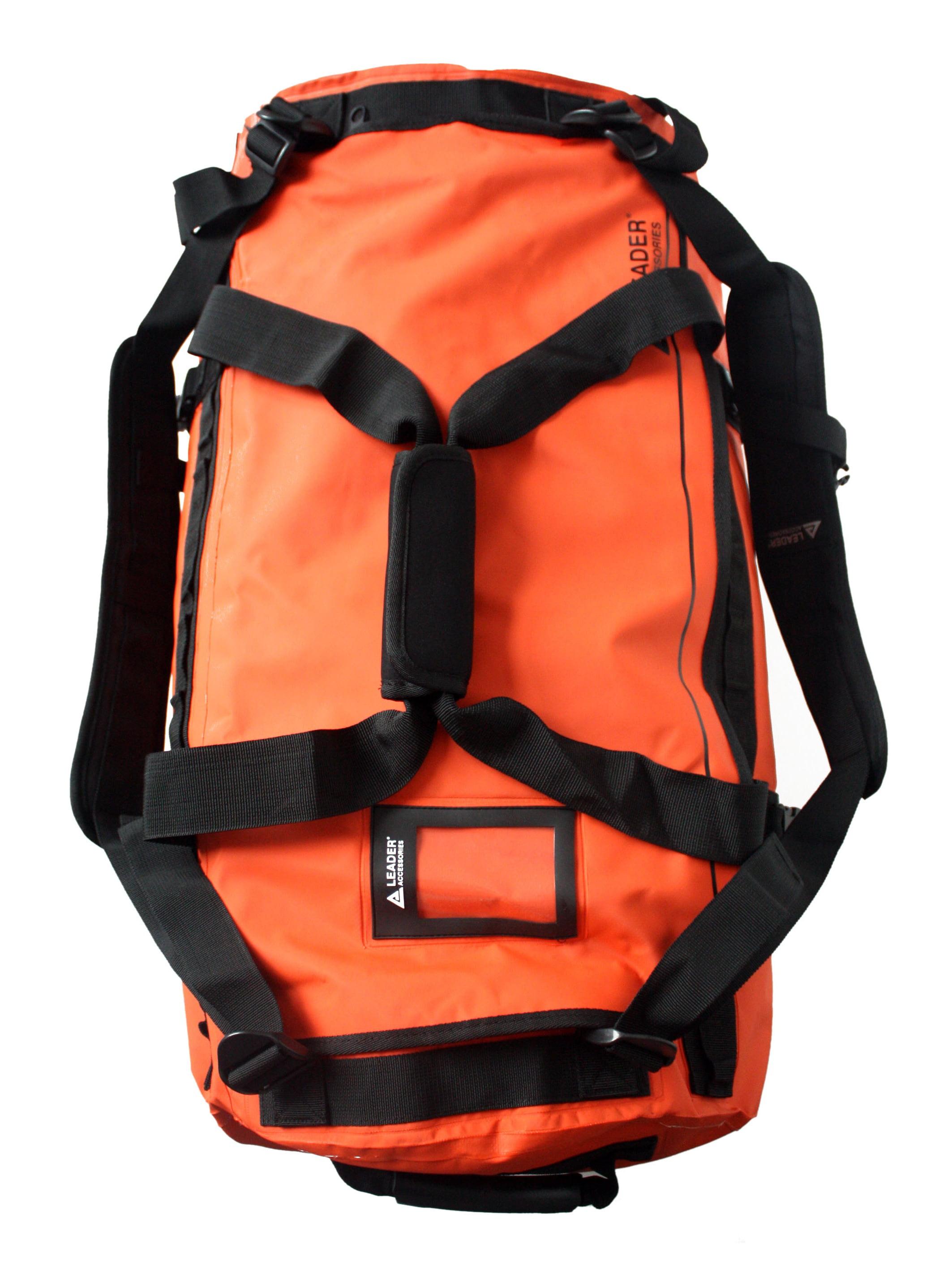 Leader Accessories Deluxe Waterproof PVC Tarpaulin Duffel Bag Backpack Dry  Bag 40l 70l 90l - Walmart.com c697f2b32e7c5
