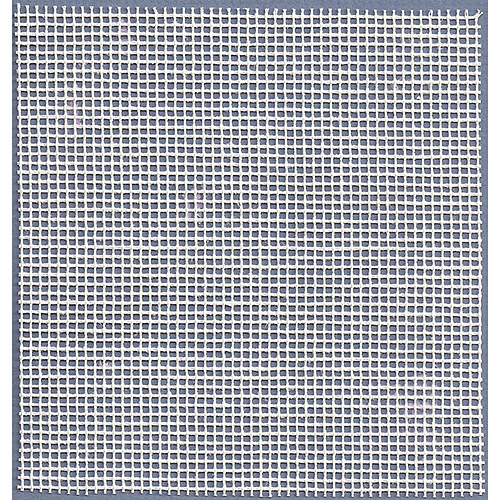 "Needlepoint Interlock Canvas, 36"" x 40"", 12 Mesh, White"
