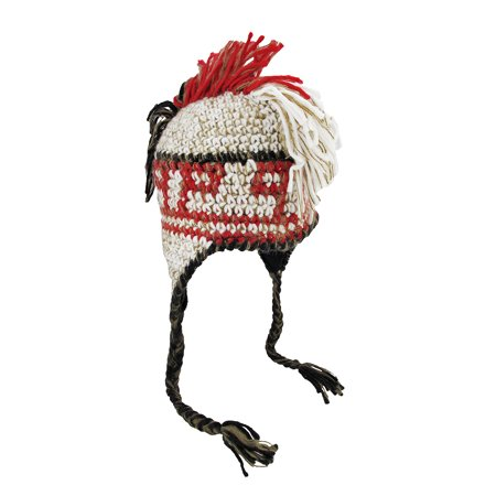 Knit Mohawk Pilot Hat Winter Walmart