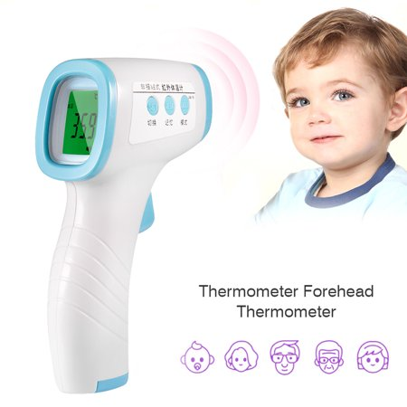 Non-Contact Infrared Forehead Thermometer Household Body Temperature Meter Home Fast Measuring Infrared Radiation Thermometer