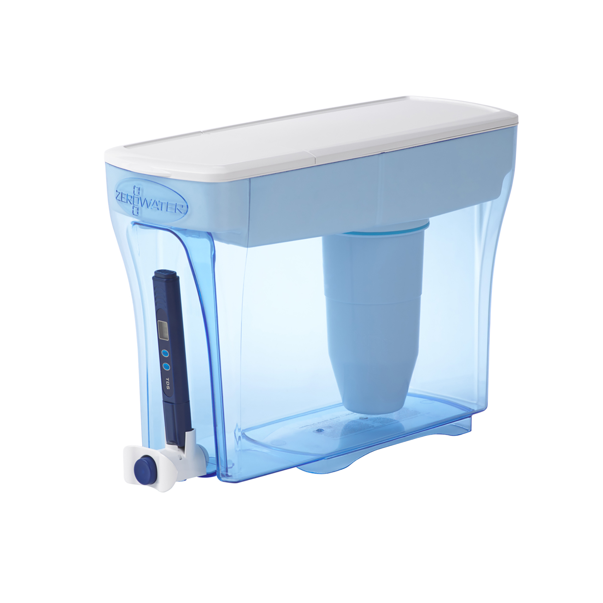 ZeroWater 23-Cup Dispenser with Free TDS Meter (Total Dissolved Solids) ZD-018 by ZeroWater