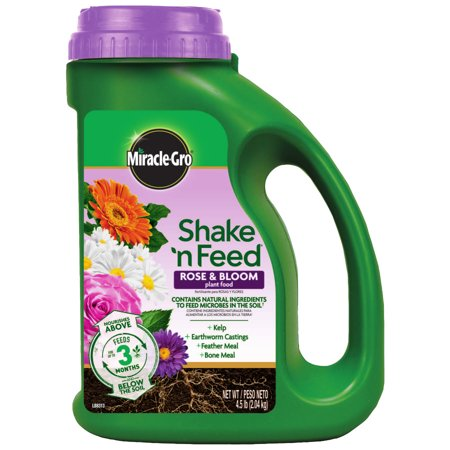 Miracle-Gro Shake 'N Feed Rose & Bloom Plant (Cont Feed)