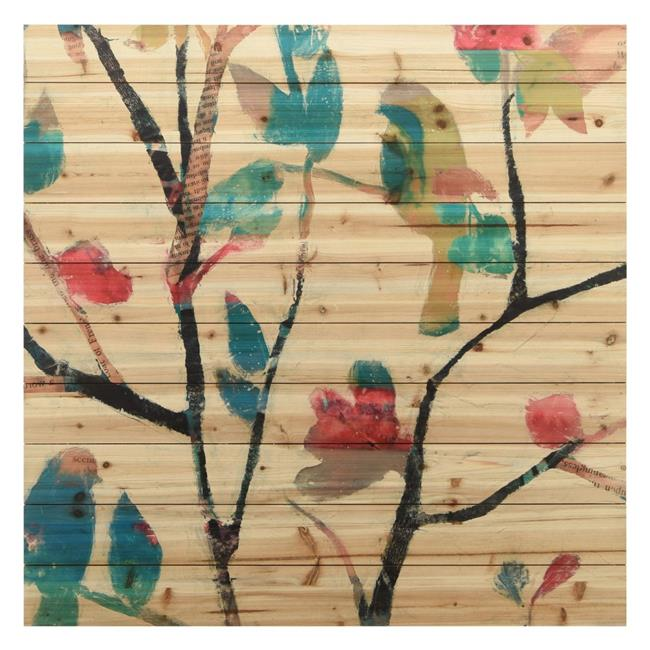 Empire Art Direct ADL-93045-4040 Fine Art Giclee Printed on Solid Fir Wood Planks - Woodland Story 2 - image 1 de 1
