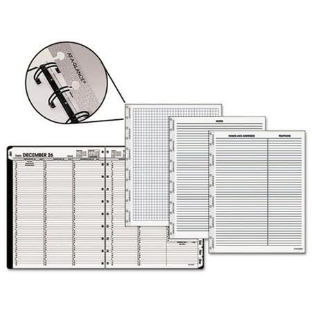 At-A-Glance 70950E05 Cahier de rendez-vous hebdomadaire et mensuel Move-A-Page, blanc - image 1 de 1