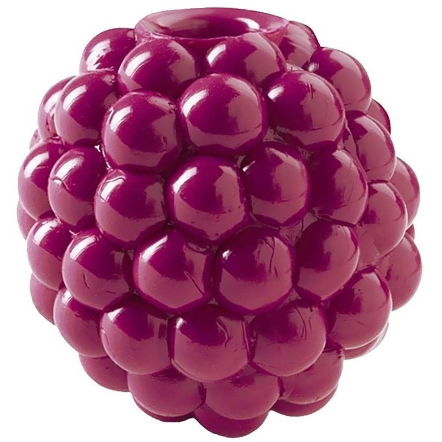 Planet Dog Orbee Tuff with Treat Spot, Raspberry