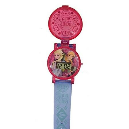 Disney Italian Charm Watch - Disney Frozen Flip Watch - Anna and Elsa