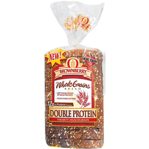 Arnold Double Protein Hearty MG Whole Grains Bread, 24 oz