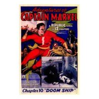 Posterazzi MOV143099 Adventures of Captain Marvel - Style a Movie Poster - 11 x 17 in.