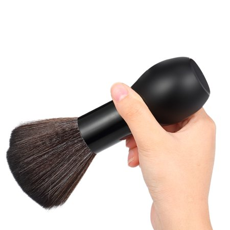Barber Neck Face Duster Brush Cleaning Hairbrush Hair Brush Salon Haircutting Tool Ultra Soft Nylon Hair - image 3 of 6