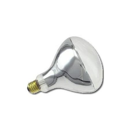 Clear Heat Lamp250R 40/1 130V Long Life Industrial Grade Infrared (Clear Industrial Grade Appliance)