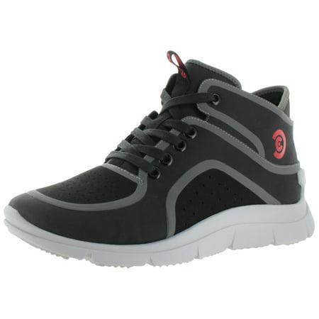 High Top Mens Sneakers - Ccilu Jokull Men's High Top Fashion Sneakers Shoes Neoprene Suede