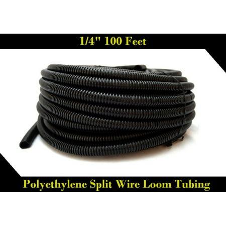 Wire Loom Black 100