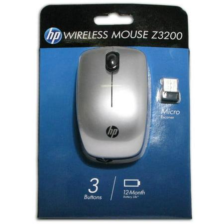 5245221c3df HP Z3200 Wireless Mouse - Nano USB - Grey - image 1 of 1 ...