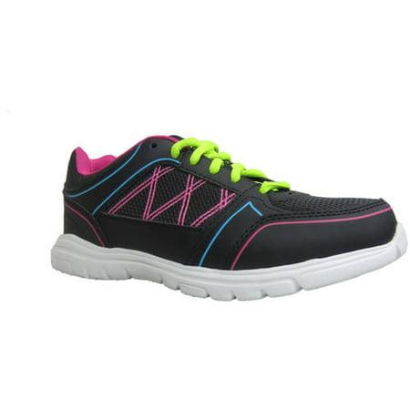 Image of Womens Black Multi Running Shoe