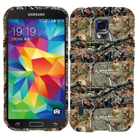 Camo Cone Case for Samsung S5 i9600 Designer Cover Protector Snap on Shield Hard Shell Phone (Phone Faceplate Protector Cover Case)