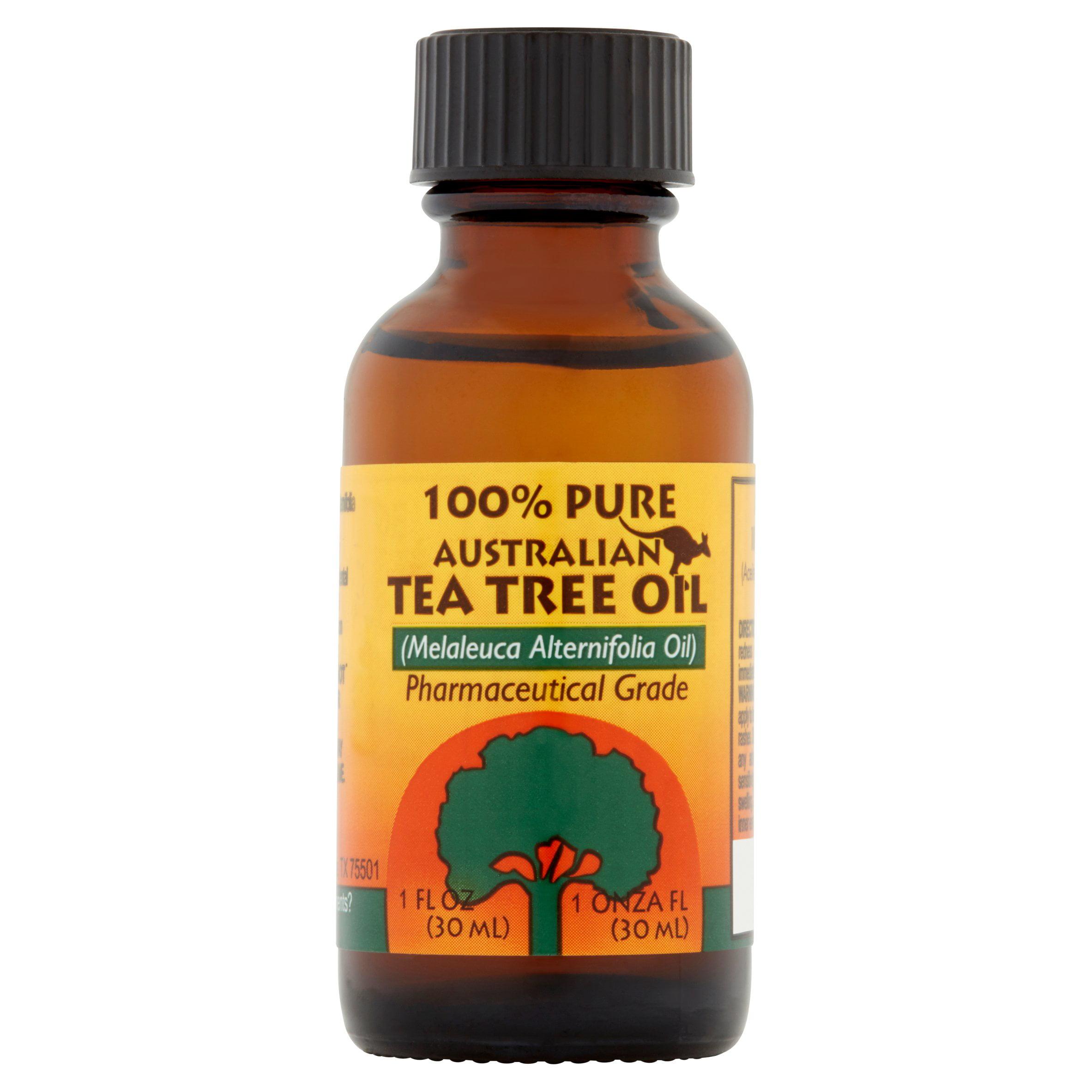 Humco 100 Pure Australian Tea Tree Oil 1 Oz Walmartcom