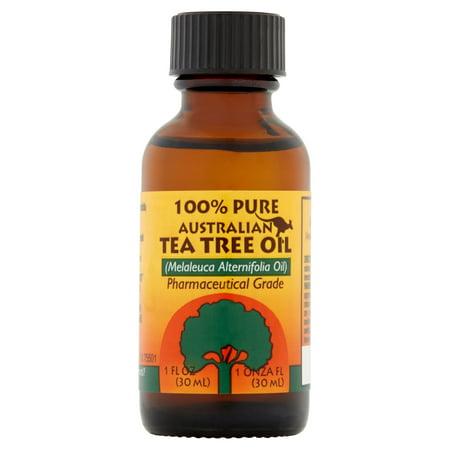 (2 Pack) Humco 100% Pure Australian Tea Tree Oil 1 oz