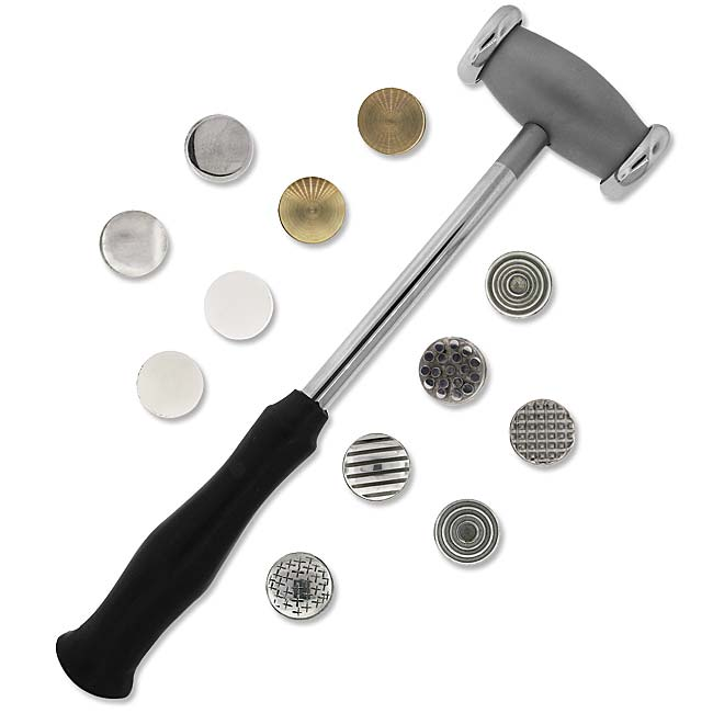 Metalwork Hammer With Twelve Interchangeable Faces