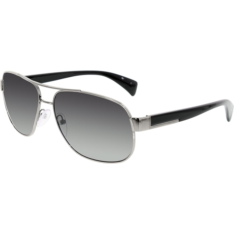 493169bfffac Prada - Prada Men's Gradient PR52PS-5AV5W1-61 Gunmetal Aviator Sunglasses -  Walmart.com