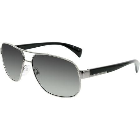 60c4e6196a Prada - Prada Men s Gradient PR52PS-5AV5W1-61 Gunmetal Aviator Sunglasses -  Walmart.com