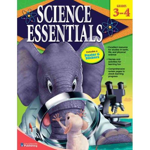 Science Essentials, Grades 3-4