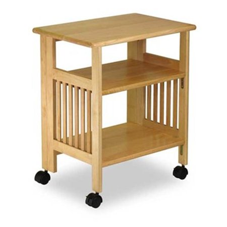 Natural Beechwood SHELF 4-TIER FOLDABLE NATURAL - image 1 of 1