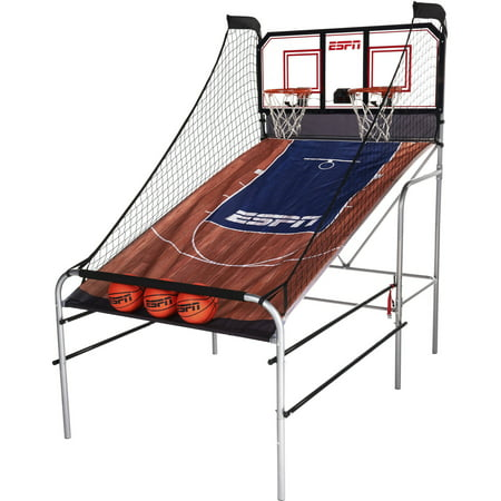 Espn 2 Player Basketball Game With Authentic Pc Backboard