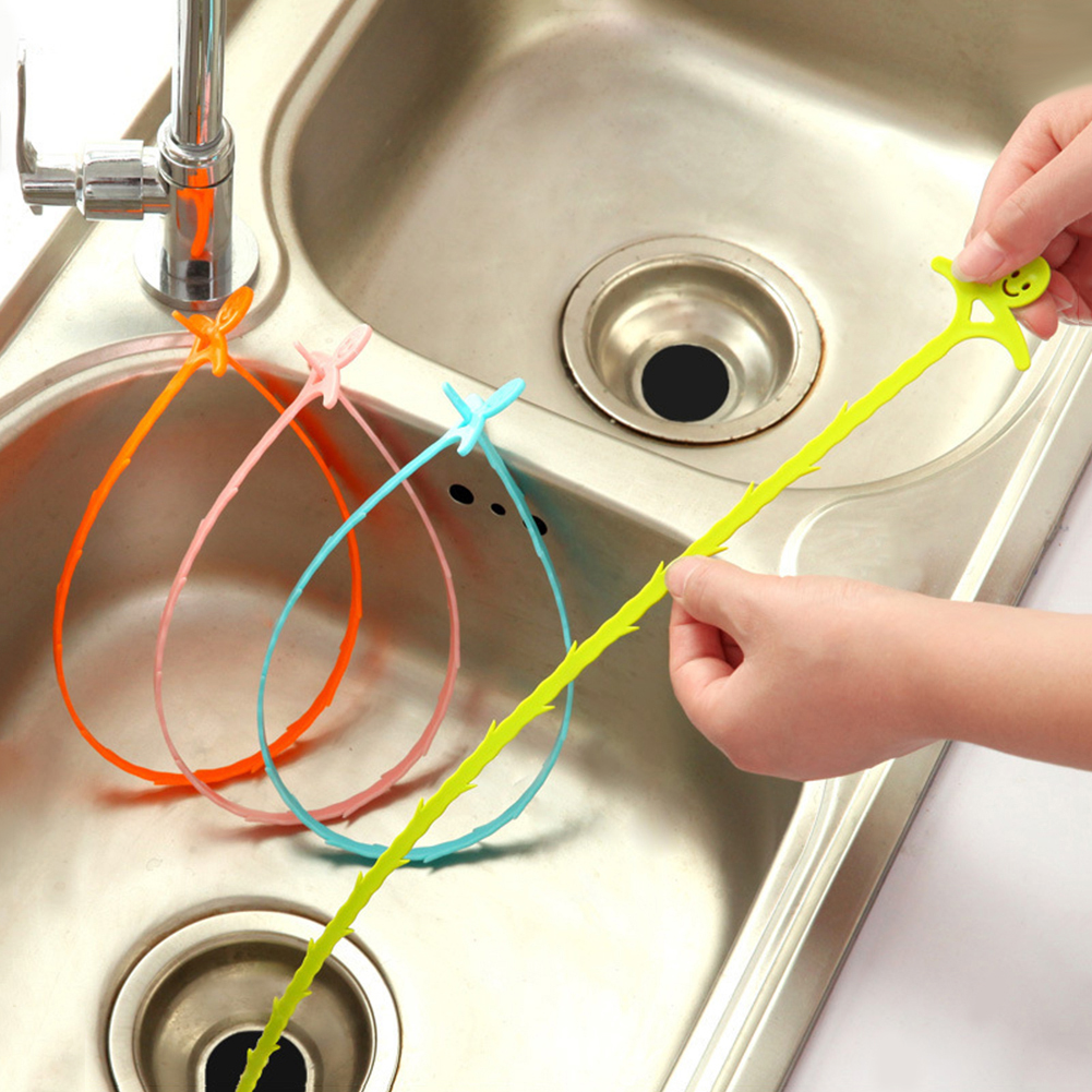 Girl12Queen Practical Kitchen Bathroom Floor Drain Sewer Dredge Sink Cleaning Hook Tool
