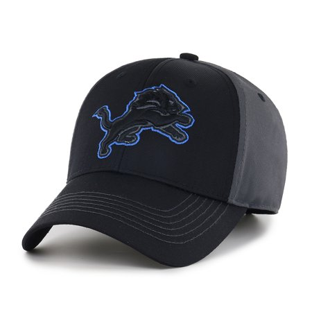 Nhl Fan - NFL Detroit Lions Blackball Adjustable Cap/Hat by Fan Favorite