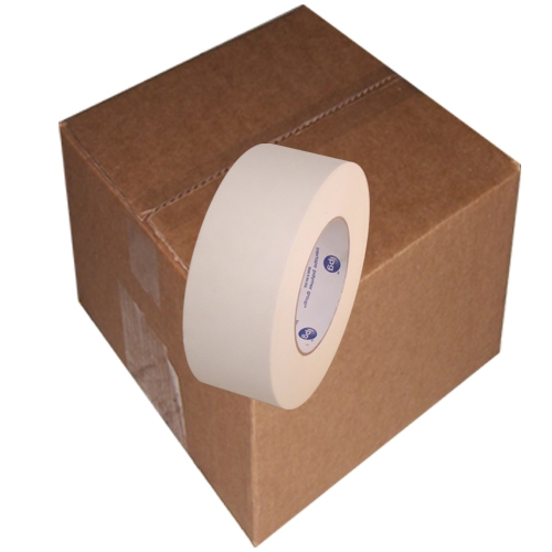 Intertape 591 Double Coated Flatback Paper Tape 2 inch x 36  yards 24 Roll Case