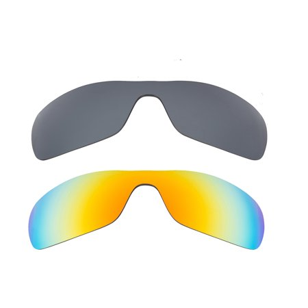 e7840bbe094 Best SEEK Replacement Lenses for Oakley ANTIX Silver Mirror Yellow Mirror -  Walmart.com