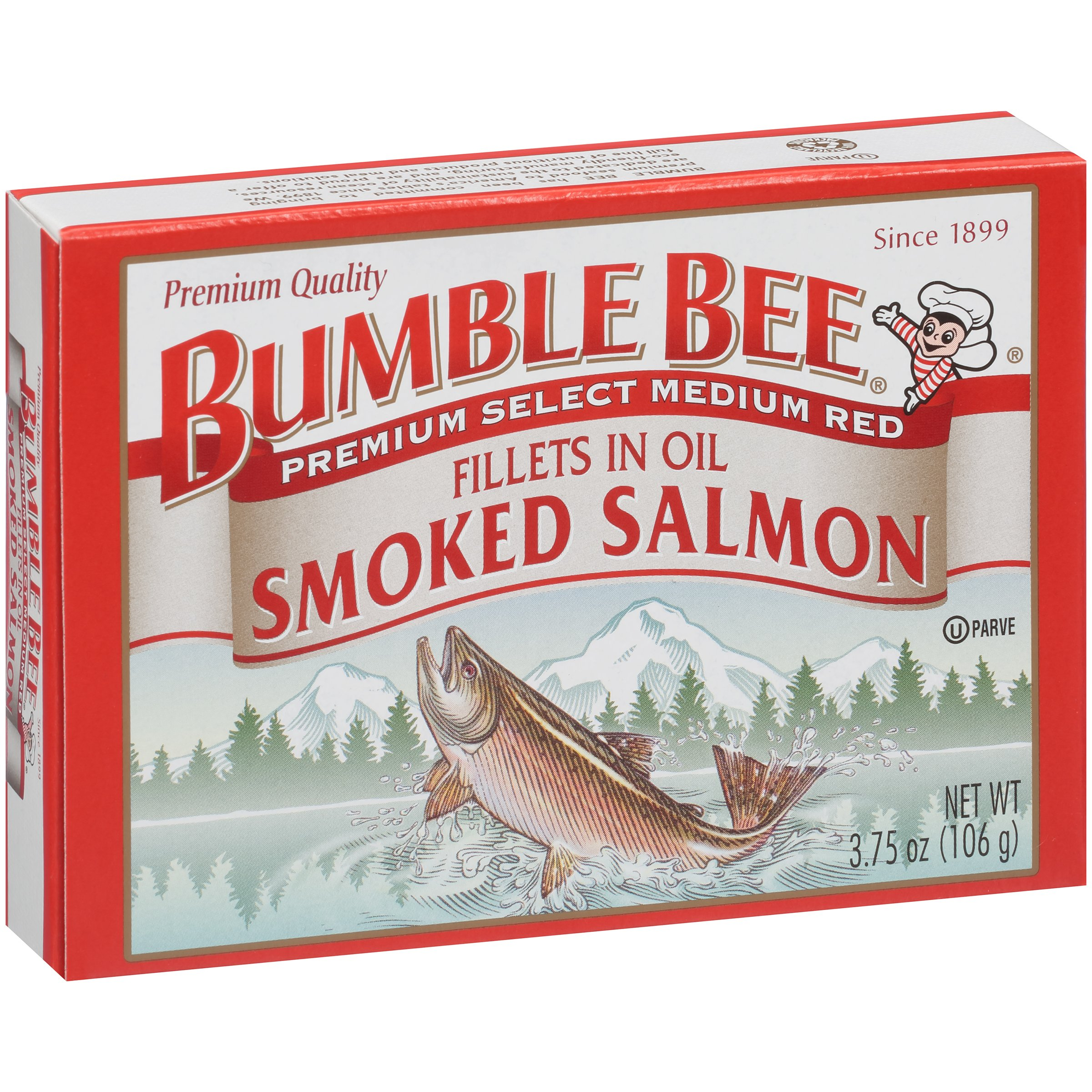 Bumble Bee Smoked Salmon Fillets In Oil, 3.75 oz by Bumble Bee Seafoods