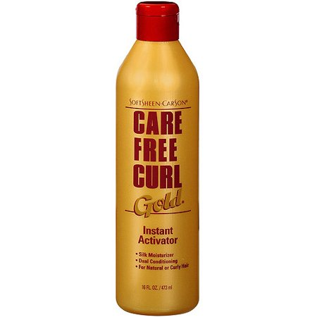 Carefree Curl Activator (SoftSheen-Carson Care Free Curl Gold Instant Activator, for Natural and Curly Hair, 16 fl)