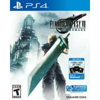 Walmart Exclusive: Final Fantasy VII Remake, Square Enix, PlayStation 4, 662248923635