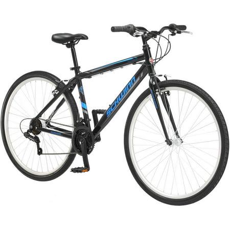 700c Schwinn Pathway Men's Multi-Use Bike, Black ()