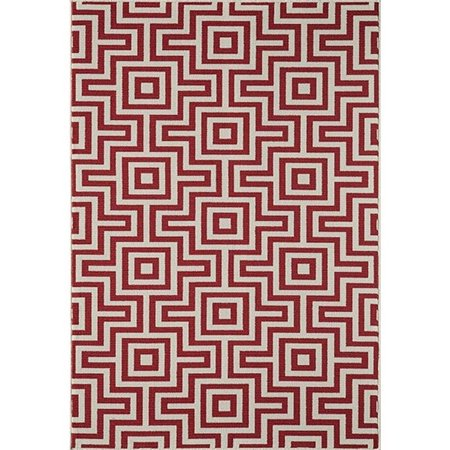 "Momeni Baja 2'3"" X 4'6"" Rug in Red - image 1 de 1"