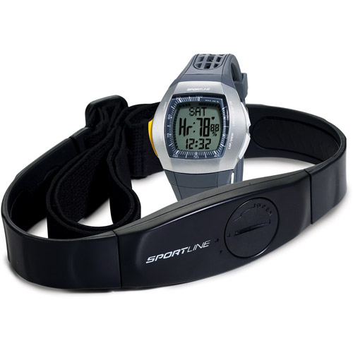 Sportline Duo 1025 Heart Rate Monitor, Grey