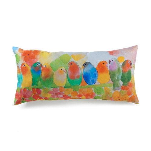 lava Lava Tropical Birds Pillow