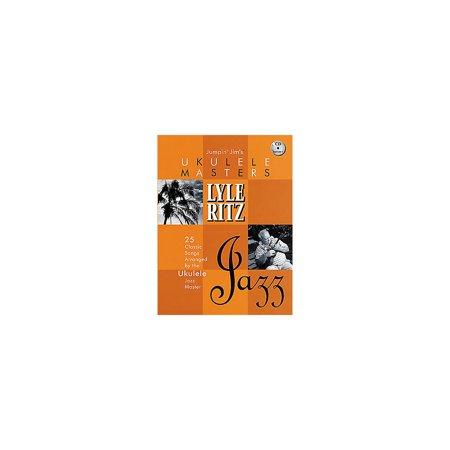 Hal Leonard Jumpin Jims Ukulele Masters Lyle Ritz Bookcd