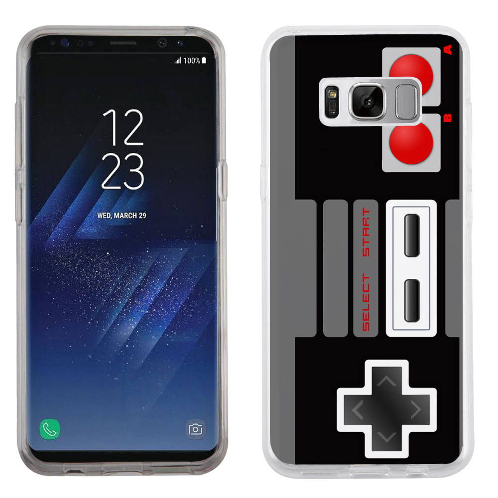 Fit Galaxy S8 PLUS, OneToughShield ® Slim-Fit Premium TPU Gel Phone Case for Samsung Galaxy S8+ / S8 PLUS - Game Controller