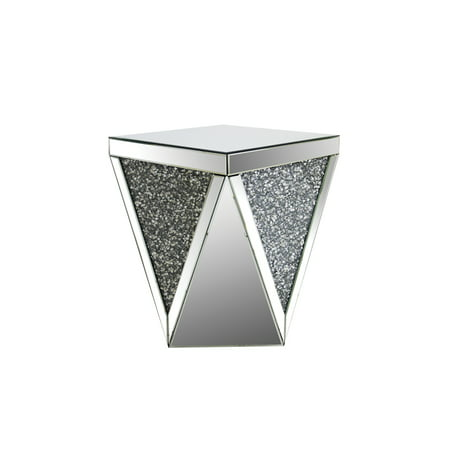 Acme Furniture Noralie End Table, Mirrored ()