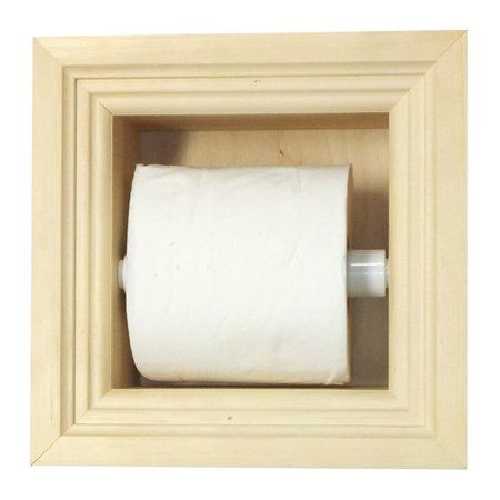 WG Wood Products Recessed Toilet Paper Holder - Walmart.com
