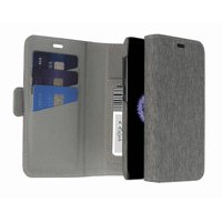 Blackweb Folio Card Case With Removable Case Design And Storage For Up To 4 Cards For Samsung Galaxy S9 In Heather Grey