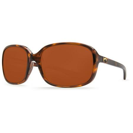 Costa Del Mar Riverton RVT 10 Shiny Tortoise Sunglasses ()
