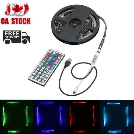 2x40+2x60cm Remote Colour Changing 5V RGB 5050 LED Strip USB PC TV Backlight CA - image 2 of 2