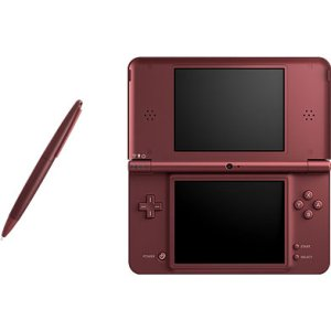 Nintendo Dsi Xl - Red W/mario Kart Ds (Nintendo Ds Red With A W)